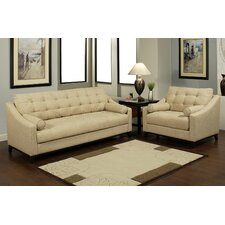 Xandria Sofa and Arm Chair Set