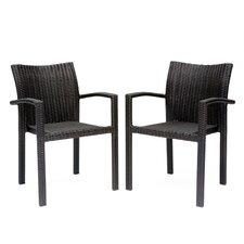 Apex Patio Dining Arm Chair (Set of 2)