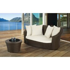 Benezo Patio 2 Piece Deep Seating Group with Cushion