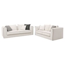 <strong>Abbyson Living</strong> Ferrara Italian Sofa and Loveseat Set