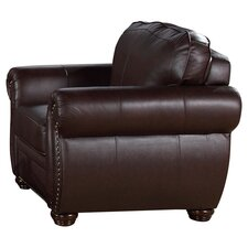Palazzo Italian Leather Chair