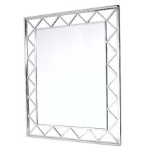 "Catania 49"" H x 41"" W Jazz Mirror"