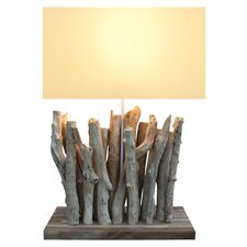 "26"" H Twigs Table Lamp with Rectangular Shade"