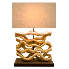 "26.7"" Table Lamp with Rectangular Shade"