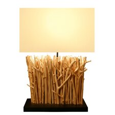 "22"" Twig Table Lamp with Rectangular Shade"