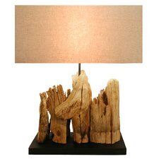 "23.6"" Table Lamp with Rectangular Shade"