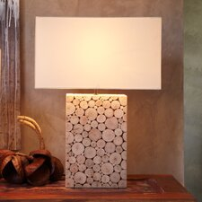 "22"" Table Lamp with Rectangular Shade"
