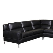 Riley Leather Sectional (Set of 2)