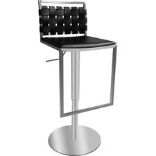 Sigma Adjustable Swivel Bar Stool