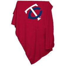 MLB Minnesota Twins Red Sweatshirt Polyester Blanket