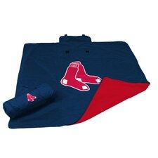 MLB Boston Red Sox All Weather Fleece Blanket