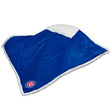 MLB Chicago Cubs Sherpa Polyester Throw