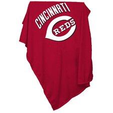 MLB Cincinnati Reds Sweatshirt Polyester Blanket