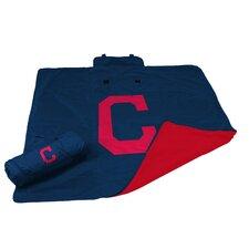 MLB Cleveland Indians All Weather Fleece Blanket