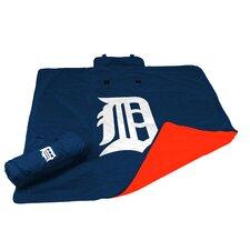 MLB Detroit Tigers All Weather Fleece Blanket