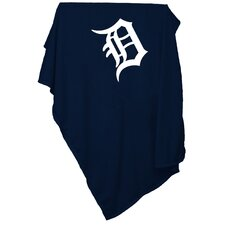 MLB Detroit Tigers Sweatshirt Polyester Blanket