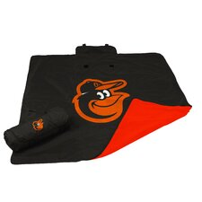 MLB Baltimore Orioles All Weather Fleece Blanket