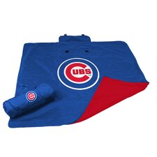 MLB Chicago Cubs All Weather Fleece Blanket