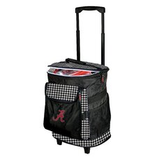 Alabama Houndstooth Rolling Cooler