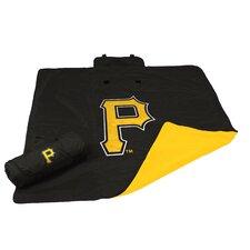 MLB Pittsburgh Pirates All Weather Fleece Blanket