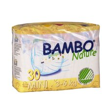 Bambo Nature Premium Eco-Friendly Baby Diapers Size 2