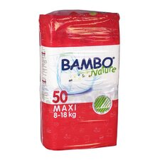 Bambo Nature Premium Eco-Friendly Baby Diapers Size 4