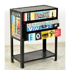 """Telefontisch """"Colore"""" mit Ablageboden und 3 Schubladen"""