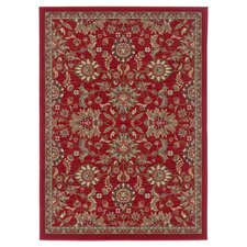 Laguna Red Oriental Rug 3 Piece Set