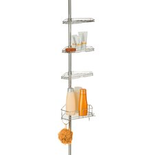 Corner Tension Rod Shower Caddy