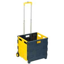 "38.58"" Rolling Folding Carry-All Crate"