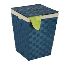 Woven Hamper with Liner