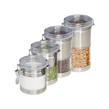 4 Piece Canister Set II