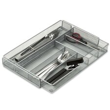 Steel Mesh Expandable Drawer Organizer Tray