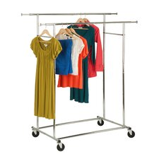 Dual Collapsible Garment Rack