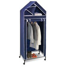 Portable Storage Closet in Blue