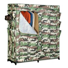 <strong>Honey Can Do</strong> Double Door Storage Closet in Camouflage