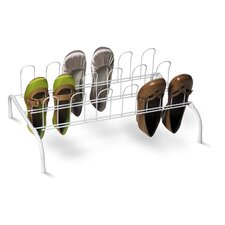 9 Pair Floor Shoe Rack