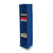 Eight Shelf Hanging Organizer in Blue