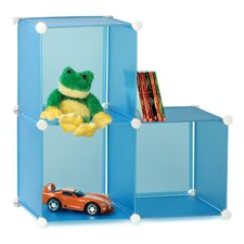 <strong>Honey Can Do</strong> 3 Pack Modular Toy Storage Cube