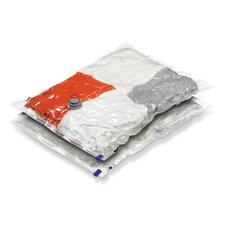 Two Medium Storage Vacuum Packs in Clear