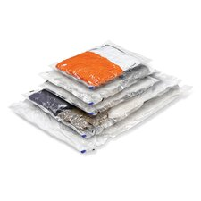 Five Vacuum Packs in Clear