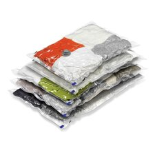 Five Pack Vacuum Pack Closet Combo Storage Bag