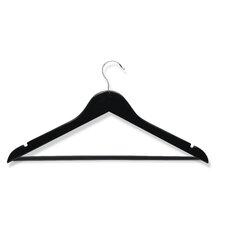 Eight Pack Suit Hangers in Ebony