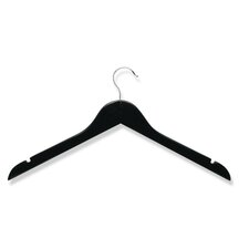 Ten Pack Shirt/Dress Hanger in Ebony (Set of 2)