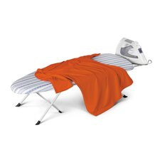 <strong>Honey Can Do</strong> Folding Table Top/Counter Top Ironing Board in White