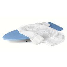 Table Top Ironing Board in Blue and white