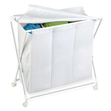 Triple Folding Hamper
