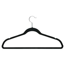 Velvet Touch Suit Hanger in Black (50 Pack)