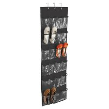 24 Pocket Over the Door Shoe Organizer I