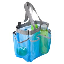 6 Pocket Shower Tote Bag